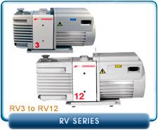 Edwards RV Series Rotary Vane Vacuum Pump Repair and Rebuild Kits