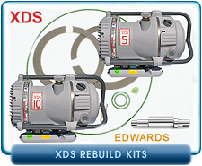 Edwards XDS Dry Scroll Vacuum Pump Rebuild and Repair Kits - XDS5, XDS5c, XDS10, XDS10c, XDS35i
