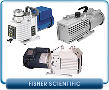 Fisher Scientific Rebuilt Rotary Vane Vacuum Pumps