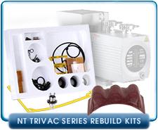 : Oerlikon Leybold NT5, N10, N16, N25 Vacuum Pump MINOR or Major Repair, Rebuild, or Refurbish Kit