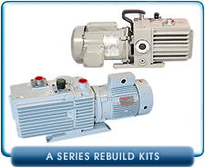 Leybold A Series Rotary Vane Vacuum Pump Rebuild and Repair Gasket Kits