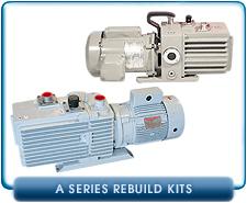 Leybold A Series Rotary Vane Vacuum Pump Rebuild and Repair Gasket Kits