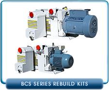 Leybold BCS Series Rotary Vane Vacuum Pump Rebuild and Repair Gasket Kits