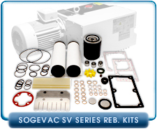 Minor Rebuild Kit that fits Leybold Sogevac SV100 Pumps - Viton Seal and Gasket Kit