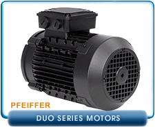 Pfeiffer Motor for DUO65 3 Phase 60 HZ, 265 Low Voltage, 480 High Voltage Only, P5113150