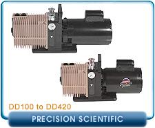 Precision Scientific DD100, DD200, DD300, & DD420 Rotary Vane Vacuum Pumps Repair, Rebuild, Gasket Kits, and Parts
