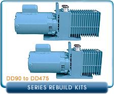 Precision Scientific DD90, DD195, DD310, & DD475 Rotary Vane Vacuum Pumps Repair, Rebuild, Gasket Kits, and Parts