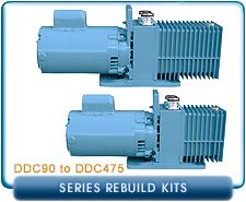 Precision Scienitific DDC Corrosive Rotary Vane Vacuum Pump DDC90 to DDC475