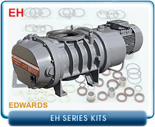 Edwards EH Root's Blower & Booster Rebuild and Repair Kits - Edwards EH250, EH500, EH1200, EH2600, & EH4200