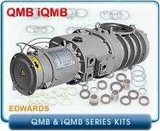 Edwards QMB iQMB Root's Blower & Booster Rebuild and Repair Kits - Edwards iQBM250, iQMB500, iQMB1200, iQMB2600, & iQMB4200