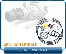 Oerlikon Leybold WAU 500 Ruvac Roots Booster Major Repair and Rebuild Kit,