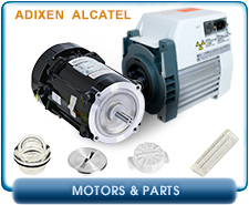 Alcatel 2033SD Replacement Parts For Alcatel Adixen 2033SD Motors, Adixen Alcatel Replacement Motor 2005, 2010, 2015, 2021 I, SD, C1, C2 Pumps, 1-Phase, 115/230 VAC