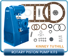 Kinney Tuthill KC15 Vacuum Pump Minor Repair, Rebuild, or Refurbish Kit