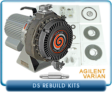 Varian DS Dry Scroll Vacuum Pump Rebuild and Repair Kits - DS300 & DS600