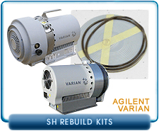 Varian SH Dry Scroll Vacuum Pump Rebuild and Repair Kits - SH-100 & SH-110