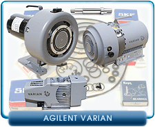 Varian Dry Scroll Pump Rebuild and Repair Kits - IDP2, IDP3, SH100, SH110, Triscroll 300, Triscroll 600, 300DS, 600DS