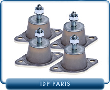 arian Agilent vibration isolator rubber feet for, IDP3 or IDP2 Scroll Pump, 4 included