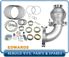 Edwards Semiconductor iH Series Kits, iQDP Pump Parts and Spares