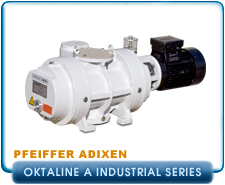 Pfeiffer Adixen Okta 250A to 6000A High-performance Roots Pump, Oktaline Series