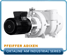 Brand NEW Pfeiffer Adixen Okta 500AM to 6000AM High-performance Roots Pump, Oktaline Series.