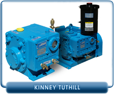New Kinney KC Rotary Piston Vacuum Pumps