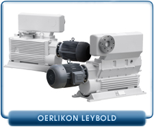 Oerlikon Leybold DK Series DK200 Dual Stage or E series E250 Single Stage Rotary Piston Vacuum Pump,