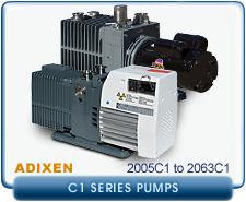 rebuilt Alcatel Adixen 2005C1 2005 C1 Pascal Dual Stage Rotary Vane Vacuum Pump refurbished