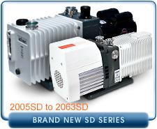 New Alcatel SD Series Vacuum Pumps