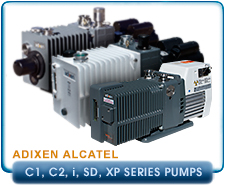 New Alcatel Vacuum Pumps