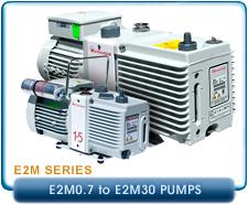 New Edwards Rotary Vane Vacuum Pumps - Laboratory E2M Series Vacuum Pumps