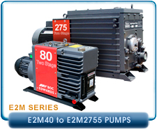 New Edwards Rotary Vane Vacuum Pumps - New E2M Series Pumps