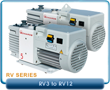 New Edwards Rotary Vane Vacuum Pumps - New RV Series Pumps