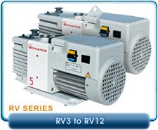 New Edwards Rotary Vane Vacuum Pumps - New RV Series Pumps