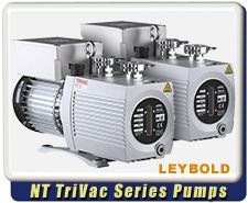 Oerlikon Leybold Trivac NT5, NT10, NT16, NT25 Rotary Vane Dual Stage Mechanical Vacuum Pump Rebuilt Refurbished