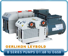 NEW Oerlikon Leybold D4 D4B to D65B TriVac Dual Stage Rotary Vane Vacuum Pumps, 3.4 CFM, single or 3-Phase