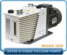 New Varian DS Series Rotary Vane Vacuum Pumps