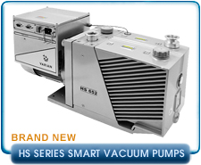 New Varian HS Series Smart Rotary Vane Vacuum Pumps