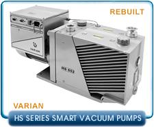 Varian HS452 HS 452 Smart Power Saving Rotary Vane Vacuum Pump PN 9499360, 9499365