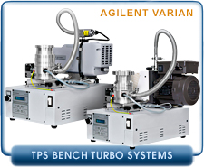 Agilent Varian TPS-bench Vacuum System w/ 84FS turbo, KF40, CF 2.75, CF 4.5, ISO-63 inlet, 304 turbo ISO 100, ISO 160, CF 6, CF 8, IDP3, DS 102, DS 202, DS 302, DS 42 SH 110, Roughing Pump & Cont.