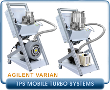 Agilent Varian TPS-mobile TwisTorr 304 FS ISO-100 inlet and SH110, TPS Mobile, Turbomolecular Vacuum Systems.