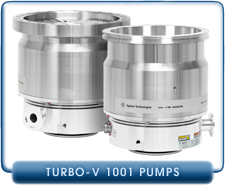 Agilent Varian Turbo-V 1001 Navigator Turbomolecular High Vacuum Pump, ISO-160, ISO-200, ISO-200F and CF-10 inches Inlet
