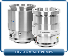 NEW Varian Turbo-V 551 On-Board Navigator Turbomolecular Pump System, ISO 160-K, Varian PN 9698832
