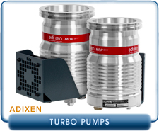 NEW Adixen, Pfeiffer, MDP-5011 and 5011 CP Turbo Molecular Drag High Vacuum Pump with Fan, 7.5 l/s pumping speed