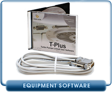 NEW Varian Agilent T-Plus Turbo Pumps Linked User Sotware for Controlling Turbomolecular Systems