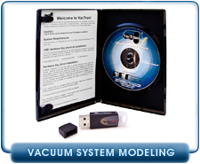 VACTRAN 3 Vacuum System Modeling Software, Version 3 with USB Port Key