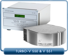 Agilent Varian Turbo-V 550 Rack Mount and Turbo-V 551 Navigator Controllers  for Turbo-V 551 Pumps