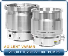 Rebuilt Agilent Varian Turbo-V 1001 Navigator Turbomolecular High Vacuum Pump, ISO-160, ISO-200, ISO-200F, ISO-250F, ISO-250K, CF10 Inlet