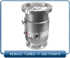 Agilent Varian Turbo-V300 V300 Turbo Molecular High Vacuum Pump Rebuilt, 300 l/s pumping speed
