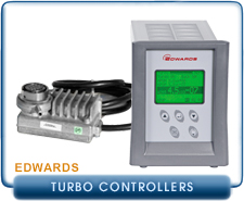 Edwards EXDC-160 EXDC160 24 Volt Turbo Molecular Pump Controller, Edwards TIC Turbo Controller 200W RS232,