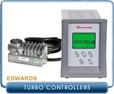 Edwards EXDC-160 EXDC160 24 Volt Turbo Molecular Pump Controller, Edwards TIC Turbo Controller 200W RS232,